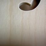 Kit 335, detalle de las rayas y marcas de la superficie.